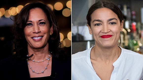 Sen. Kamala Harris and New York Rep. Alexandria Ocasio-Cortez are teaming up to introduce legislation aimed at helping people with ...