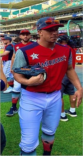 Houston Astros outfielder Michael Brantley