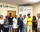 Rev. Al Sharpton and the family of A$AP Rocky