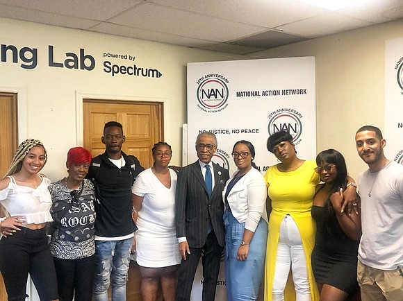 Renee Black, the mother of Harlem rapper A$AP Rocky, spoke publicly Saturday morning, alongside Rev. Al Sharpton, for the first ...