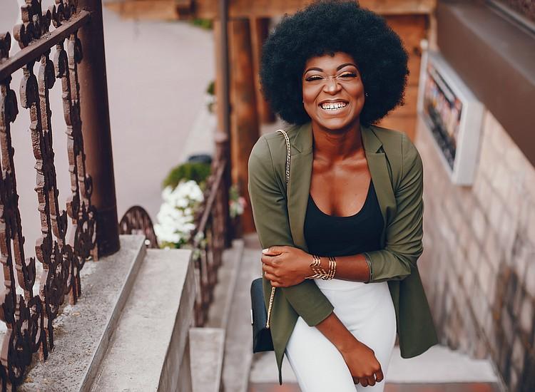 Women Embracing Natural Hair Texture As Ny Bans
