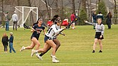 Kyndall Diamond on the lacrosse field