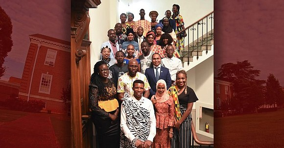 Twenty-five young leaders from 19 African countries arrive at Clark Atlanta University for the sixth consecutive Mandela Washington Fellowship for ...