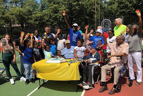 The David Dinkins Tennis Club, named after beloved former New York City mayor, the Hon. David Dinkins, began another summer ...