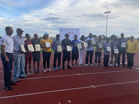 The Aliann Pompey Invitational in Georgetown, Guyana, named for the country's four-time track Olympian, recently had its fourth edition