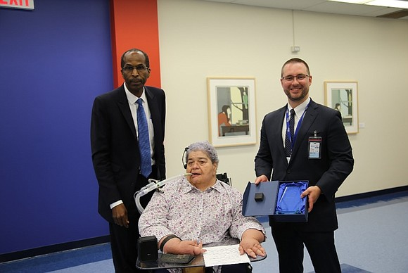 NYC Health + Hospitals' Vice President of Ambulatory Care, Dr. Ted Long, last week honored Marilyn E. Saviola, the founder ...