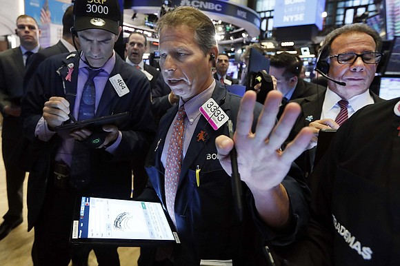 The Dow tumbled more than 600 points and global stocks were in disarray on Monday after China escalated the trade ...