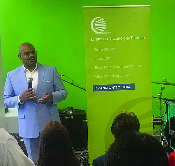 Evanston Technology Partners recently celebrated the grand opening of their Chicago headquarters at 56 E. 47th St. in Bronzeville's historic ...