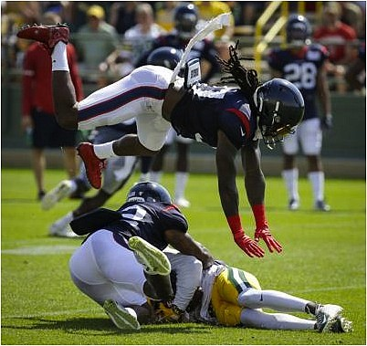 The Houston Texans resumed training camp after having a day of rest and traveling to Green Bay to hold two ...