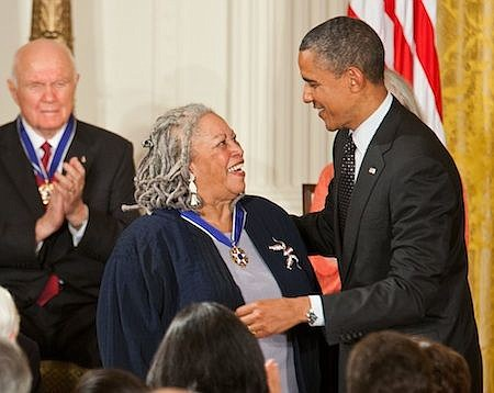 """We die,"" Toni Morrison said at the conclusion of her Nobel Prize address in 1993."