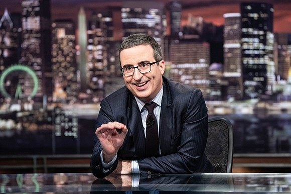 John Oliver was not impressed by President Donald Trump's response to the recent mass shootings.