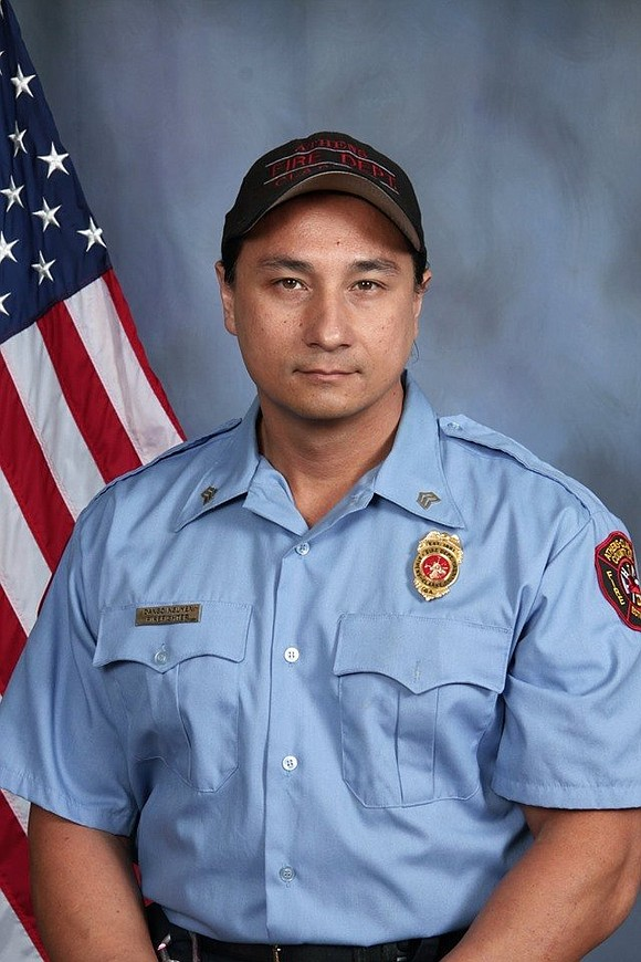 "Dango Nguyen, a former firefighter and actor who appeared on ""The Walking Dead"" died Saturday ""after a hard-fought battle with ..."