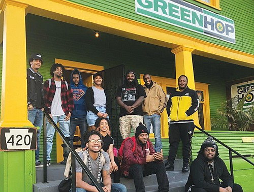 A local hip-hop themed dispensary is once again holding a block party in part to emphasize efforts by local African ...