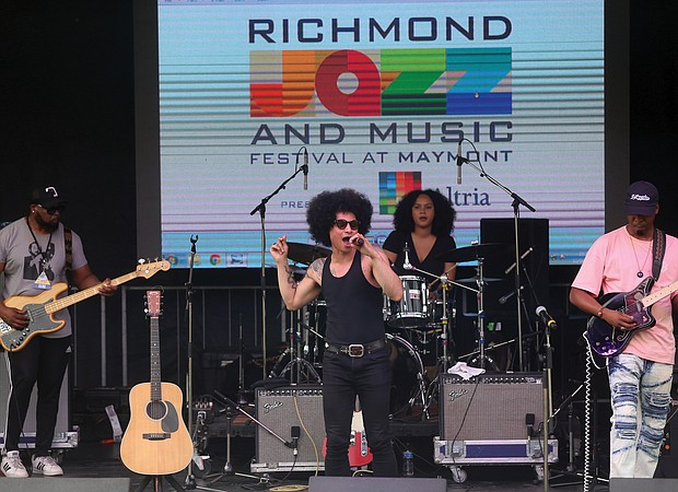 """New York's Jose James celebrates the music of Bill Withers on Saturday with songs from """"Lean On Me,"""" which he reprised on Sunday at the 10th Annual Richmond Jazz and Music Festival at Maymont."""