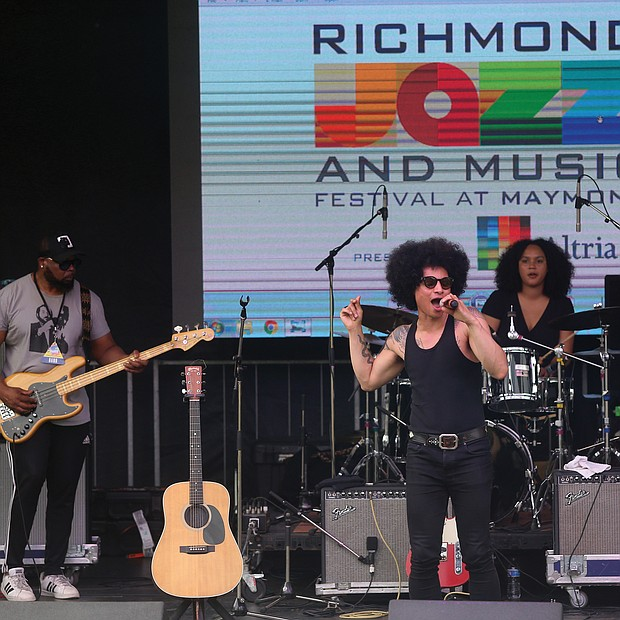 "New York's Jose James celebrates the music of Bill Withers on Saturday with songs from ""Lean On Me,"" which he reprised on Sunday at the 10th Annual Richmond Jazz and Music Festival at Maymont."