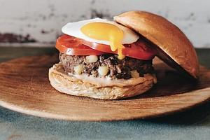 Brooklyn Bacon Bonanza Burger