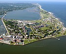 Fort Monroe in Hampton Virginia