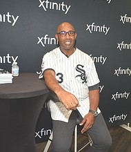 Baseball Hall of Famer Harold Baines.  Baines was inducted into Baseball Hall of Fame, July 21,2019.  Photo by Jerome Simmons.