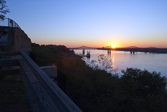 The past is ever present in Natchez, Mississippi.