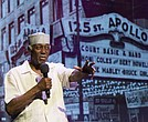 Herb Boyd speaks at the Apollo Theater