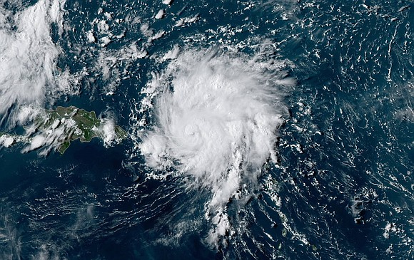 Dorian strengthened into a hurricane Wednesday afternoon as it lashed the British and US Virgin Islands and neared eastern Puerto ...