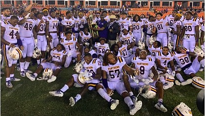 Prairie View A&M University Panther Football Team/Photos courtesy of Jamar Carrington
