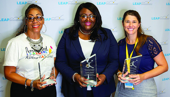 Principal Miyoshi Knox from Stagg School of Excellence in Englewood was recently honored with the 2019 LEAP Leader Award at ...