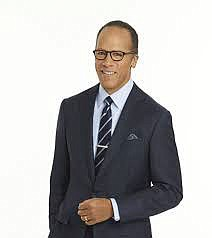 Lester Holt is probably the highest-ranking..