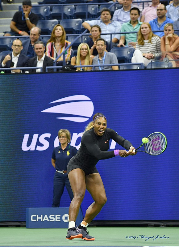 Serena Williams is heading to the U.S. Open semifinals. It took her only 44 minutes to defeat 27-year-old Wang Qiang ...