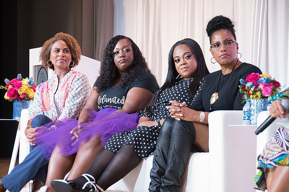 Scenes from the Circle of Sisters Expo at the Jacob Javits Center in New York, hosted by 107.5 WBLS, celebrating ...