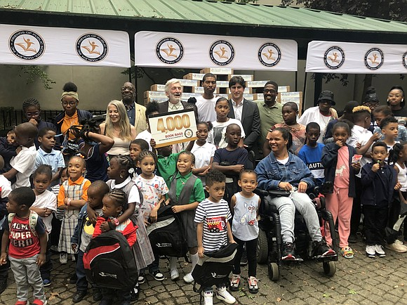 Following two weeks of backpack and school supply giveaway events at NYCHA houses, street fairs and police precincts throughout Harlem, ...