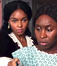 "Janelle Monae and Cynthia Erivo in ""Harriett"""
