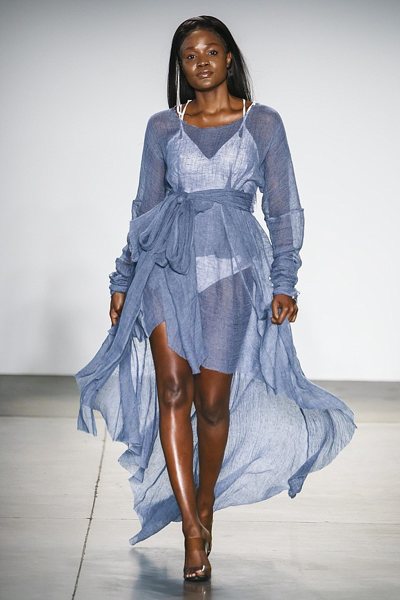Whimsical color palettes, artistic fabric manipulations and ethereal elegance led the way for the first show from Global Fashion Collective. ...
