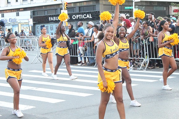 Thousands lined Adam Clayton Powell Jr. Boulevard in Harlem on Sunday for the 50th Annual African American Day Parade on ...