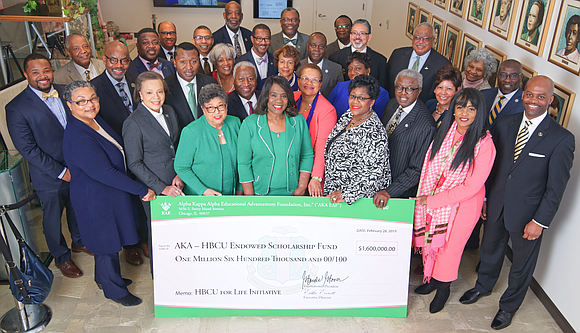 Alpha Kappa Alpha Sorority, Incorporated raises $1 million in 24 hours for a second consecutive year during HBCU Impact Day ...