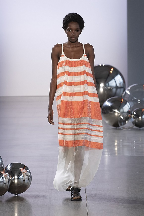 For Noon by Noor's spring 2020 NYFW collection, designers were inspired by the l Bahraini pearl and its surroundings.