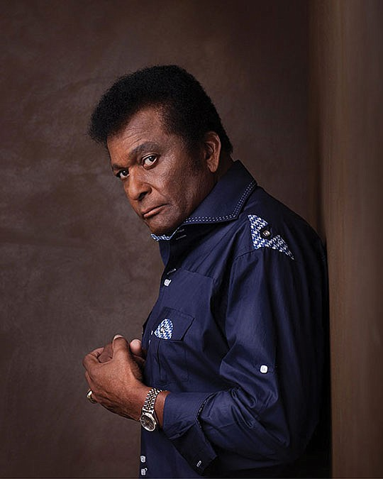 Three-time Grammy winner Charley Pride..