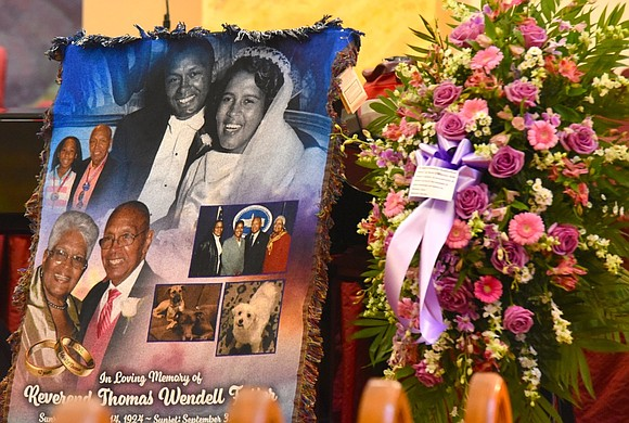 At Walker Memorial Baptist Church on Sept. 14, 2019, New Yorkers fondly remembered the Rev. Wendell Foster, who passed away ...