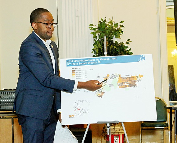 On Tuesday, Sept. 17, 2019, State Sen. Zellnor Y. Myrie held a community meeting on the upcoming 2020 Census.