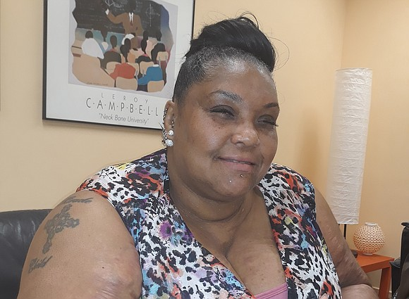 """LaTasha S. """"Tasha"""" Kenney is hoping hun- dreds of people will take part in an upcoming anti-violence action aimed at ..."""