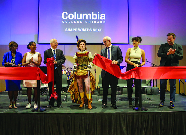 Columbia College Chicago has officially opened its first-ever $50 million Student Center.