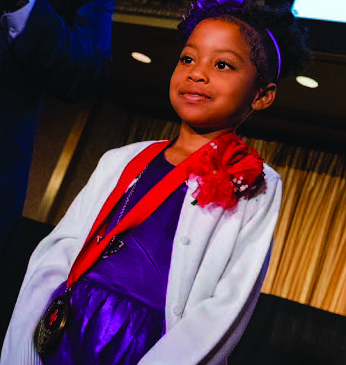 Nine-year-old Olivia Shorter (pictured) from Matteson recently hosted her annual Olivia's Sickle Cell Awareness Party to celebrate her birthday and to bring awareness to the realities of sickle cell disease which she has lived with since she was born. Photo Credit: Provided by the family of Olivia Shorter
