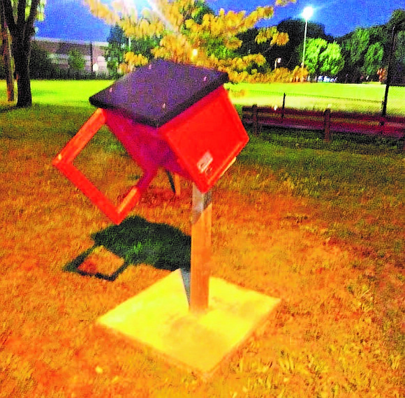 Brown Memorial Park, 634 E. 86th St., in Chatham was recently vandalized by an unknown party who dispersed trash throughout ...