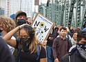 A youth-led climate strike on Friday drew thousands of Portlanders, mostly students, but also toddlers to grandparents, joining millions worldwide to protest government inaction on the climate change crisis. But one incident involving police use of force against a young African American male drew complaints of police brutality from black civic leaders. Thousands marched peacefully from City Hall, across Hawthorne Bridge to the grounds of the Oregon Museum of Science and Industry.