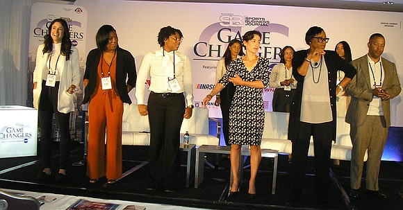 The subjects at this year's Game Changers conference ranged from what it's like to be a female sports agent negotiating ...