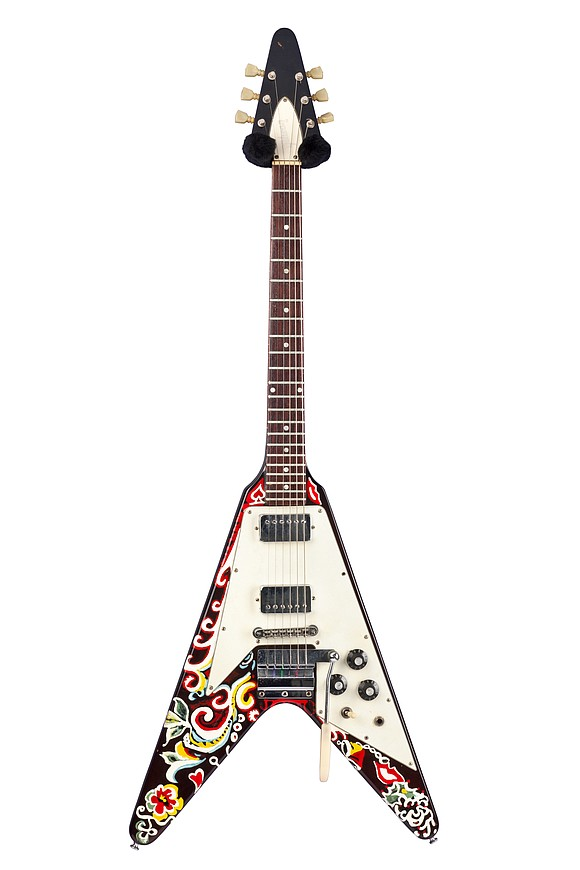 """""""Play It Loud: Instruments of Rock and Roll,"""" now on view at the Metroplitan Museum of Art, brings back such ..."""