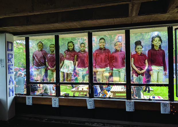 Anthony Overton Elementary School in Bronzeville was closed in 2013 after 50 years of operation. The iconic south side building was added to the National Register of Historic Places in 2016 and has become the site of community art projects including the most recent Community Day: Making Space Together event hosted by Chicago Architecture Biennial, Creative Grounds, and Borderless Studios.