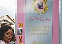 Entrepreneur Rita Calloway welcomes customers to her new mobile beauty salon 'Styled by Her Beautique,' one that she can take anywhere in the city.