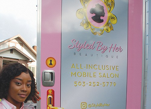 After owning her own beauty salon for years, Rita Calloway started a unique new business: a beauty salon on wheels.