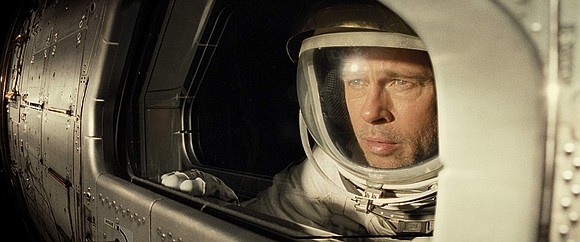 Astronaut Roy McBride (Brad Pitt) travels to outer space to figuratively kill two birds with one stone—or one trip.